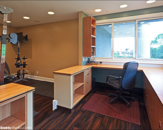 Office gym home design ideas pictures remodel and decor