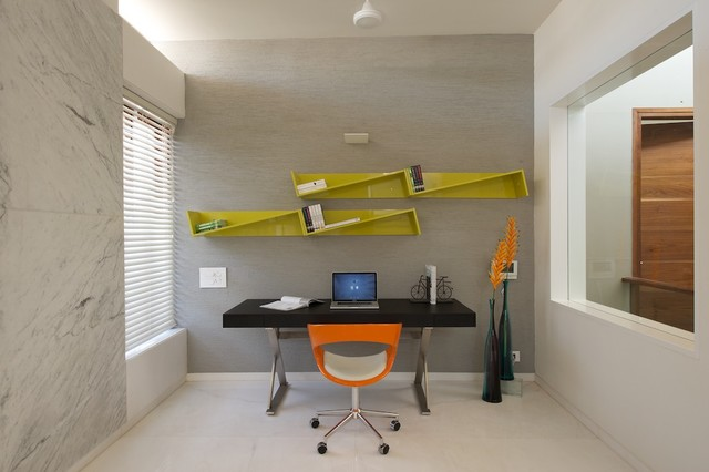 modern private home office. Private Residence Modern-home-office Modern Home Office :