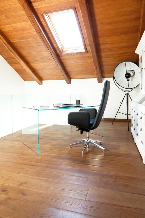 pavimento in legno disposizione orizzontale