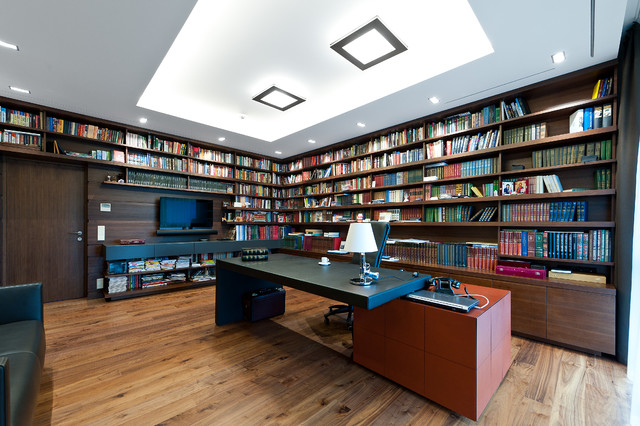 Project by: arches - Contemporary - Home Office & Library - Other ...