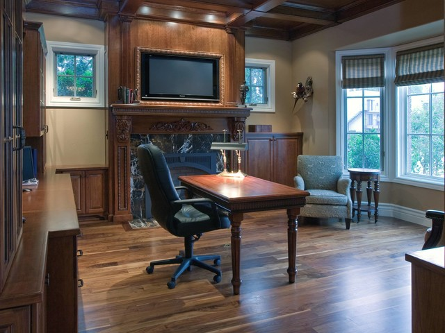Project Interiors traditional-home-office