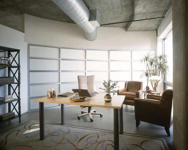 Promenade Lofts Home Office Contemporary Home Office