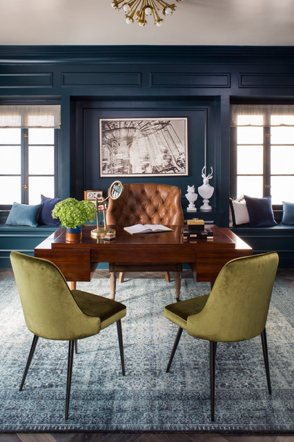 Property Brothers At Home Drew S Honeymoon House Transitional Office Los Angeles By Breeze Giannasio Interiors