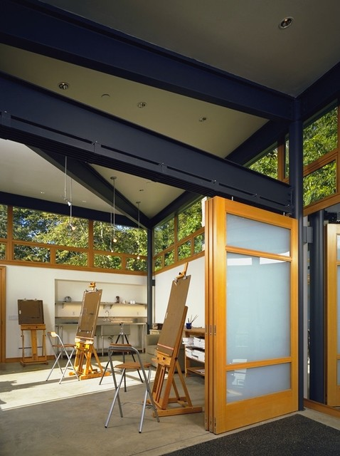 Quantum Windows & Doors | FINNE Architects | Gordon Gibson Construction industrial-home-office