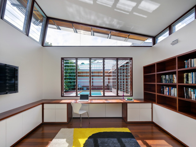 Queens Park contemporary-home-office