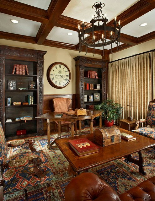 Reading Room Traditional Home Office Dallas By Key