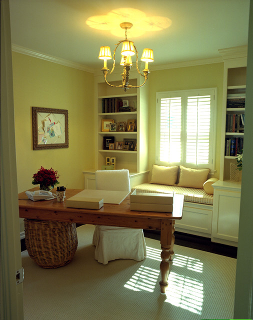 Reaume Construction & Design traditional-home-office