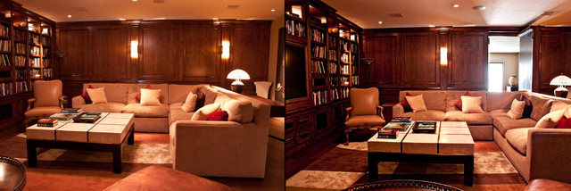 Recent secret passageways traditional home office - Creative home engineering ...