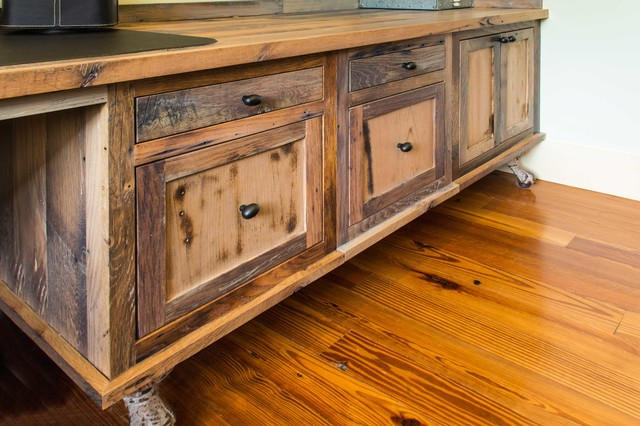 Great Reclaimed Skip Planed Oak Furniture Rustic Home Office