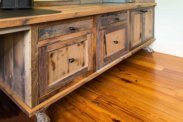 Great Reclaimed Skip Planed Oak Furniture Rustic Home Office
