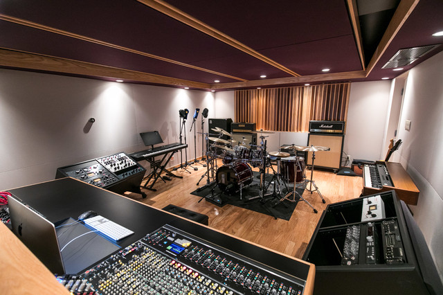 Recording Studio Kids Basement