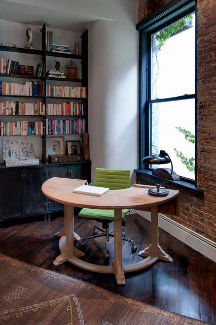 Reiko Feng Shui Interior Design Loft Renovation Industrial Home Office New York By