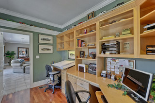 Remodel In Los Gatos Traditional Home Office San