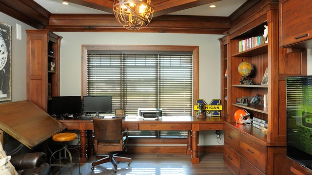 restoration hardware home office. restoration hardware style home transitionalhomeoffice office i