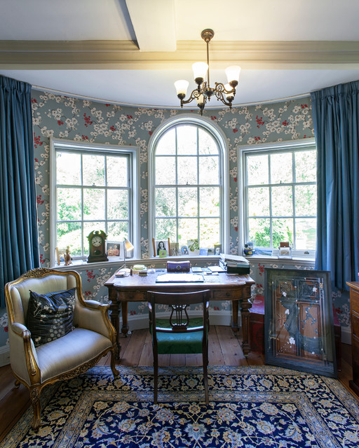 restoration of a 18th century house in greenwich london traditional home office century office