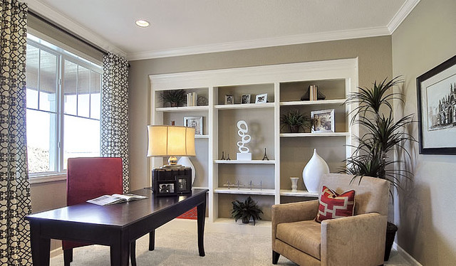 Richmond American Homes - Eastern Shore traditional-home-office