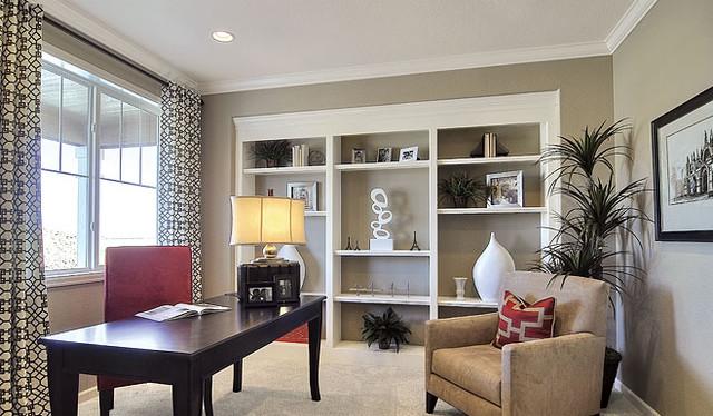 Richmond American Homes - Philadelphia traditional-home-office