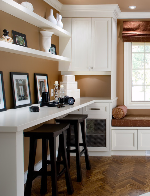 Richmond Hill home traditional-home-office