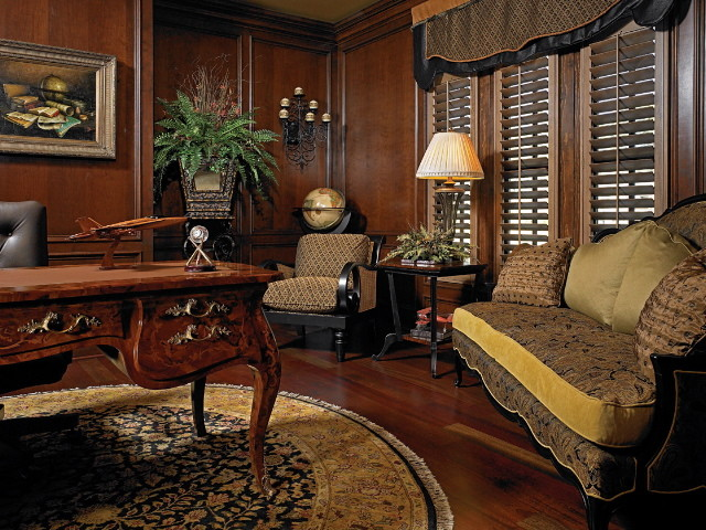 Riverclub Whole House Design traditional-home-office