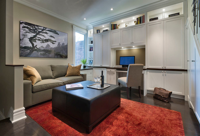 Riverdale Home in Toronto transitional-home-office