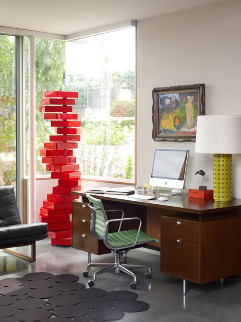 Rogers-Sturz Residence modern-home-office
