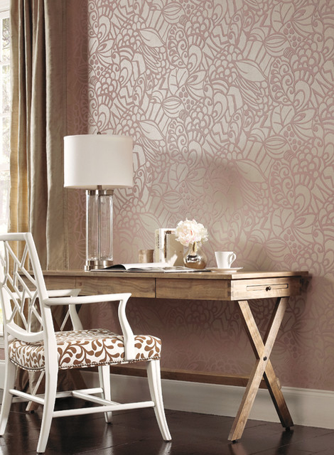 Ronald Redding Designs- Sculptured Surfaces II contemporary-home-office