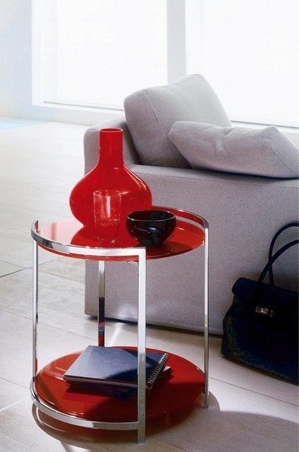 Round Coffee Table contemporary-coffee-tables