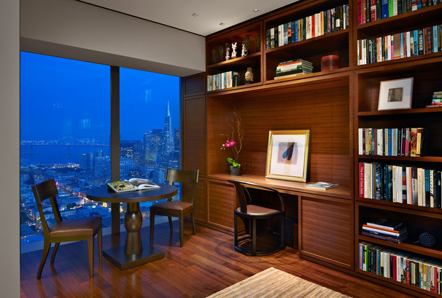 RUSSIAN HILL contemporary-home-office