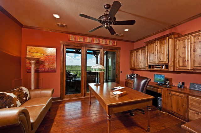 Rustic Office rustic-home-office