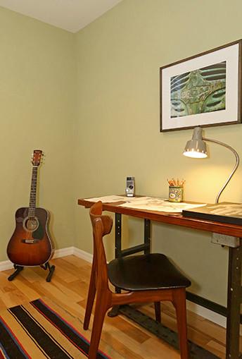 Sanborn Ave, SIlver Lake modern-home-office