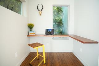 Santa Rita Residence コンテンポラリー-ホームオフィス書斎