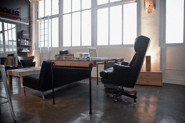 Santee Court Loft - Industrial - Home Office - los angeles - by Cush