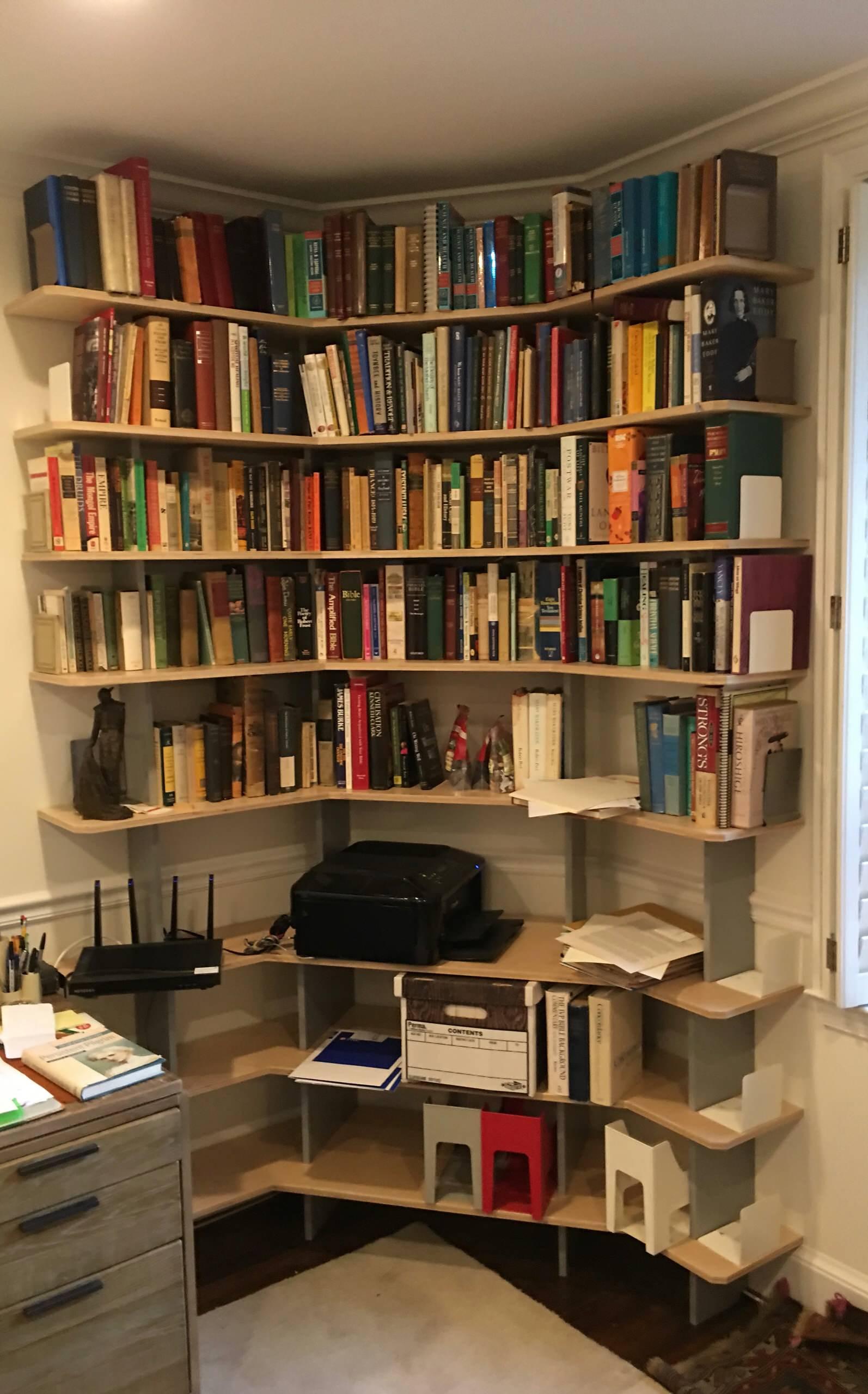 SARA Wall System - Custom Bookshelves