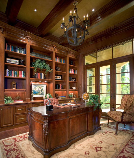 sater groups cordillera custom home plan traditional home office atherton library traditional home office