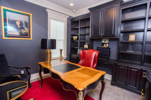 Scarface home office viktorianisch arbeitszimmer new orleans