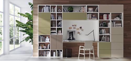 Studio .scrivania-living