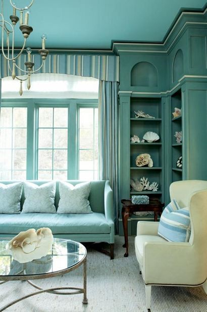 Sea Island Residence- Library traditional home office