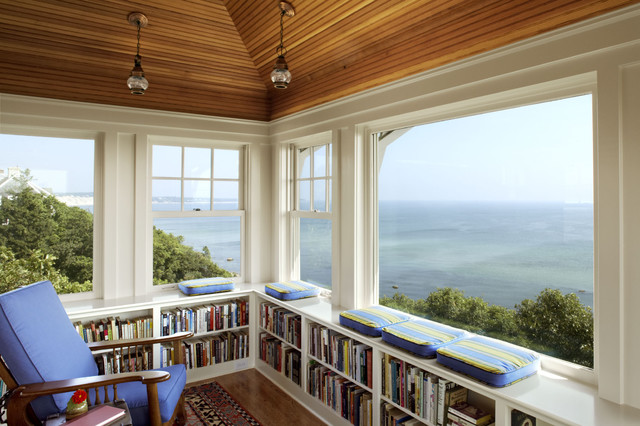 SeaBend traditional-home-office
