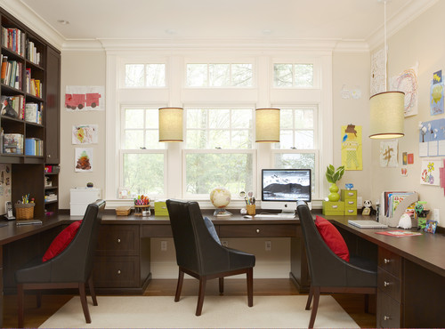 family home office. Traditional Home Office By Weston Architects \u0026 Designers Oak Hill Family