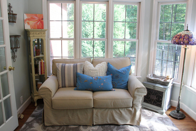 Serene Sunroom - Eclectic - Home Office - birmingham - by Unskinny ...
