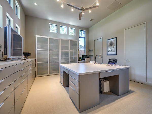 Serenity - The Woodward Project modern-home-office