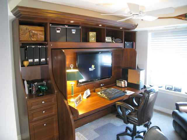 All In One Room serious home office-man cave and spare room all in one