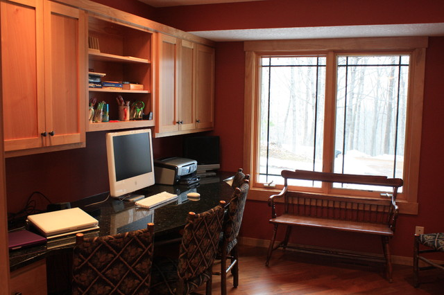 Shaker Style Shorewood, MN traditional home office