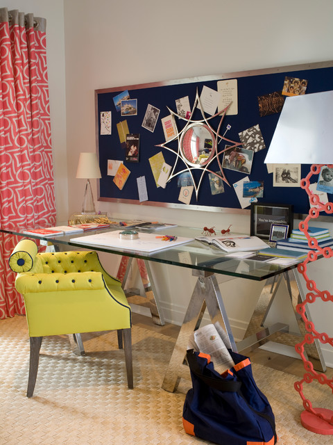 Showcase houses etc. eclectic-home-office
