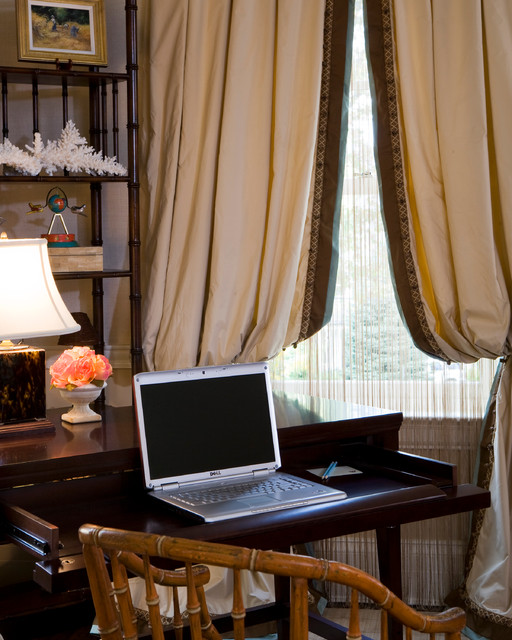 Showhouse Master Bedroom traditional-home-office