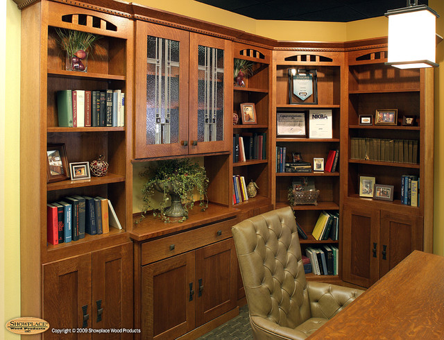 Showplace Cabinets - Home Office traditional-home-office