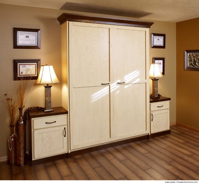 Showplace Cabinets Murphy Wall Beds Traditional Home Office Other By Showplace Cabinetry