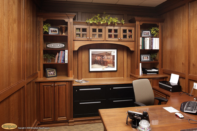 Showplace Lifestyle Cabinet Gallery, Sioux Falls, SD Traditional Home Office