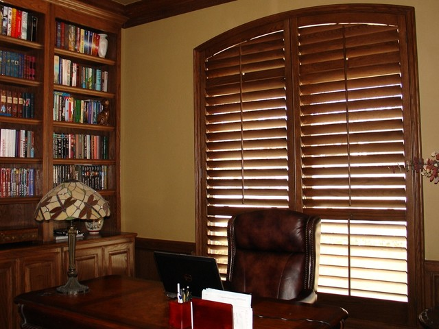 Shutter Installations traditional-home-office
