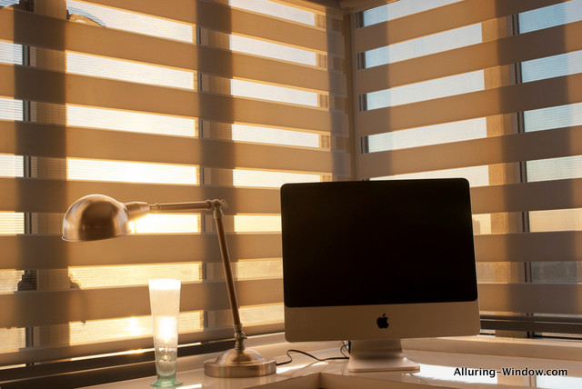 Silhouette Blinds By Alluring Window Modern Home